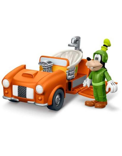 Oferta de Carro Mickey Roadster Racers Turbo Tubster Fisher Price DTT81 por $81740