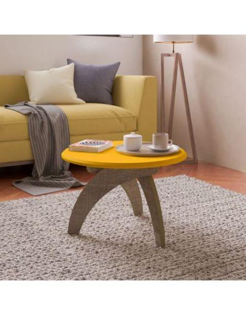 Oferta de Mesa De Centro Jade  Bertolini - Amarillo Con Canela por $268900