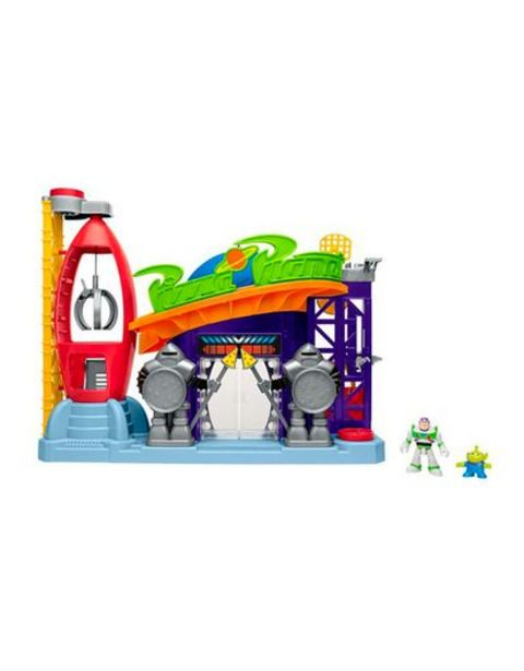 Oferta de Set Toy Story Imaginext Planeta Pizza Fisher Price GFR96 por $291580