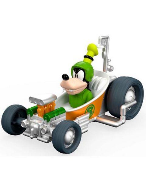 "Oferta de Carro Mickey Racers ""Goofy Tubster"" Fisher Price FFR69 por $64660"