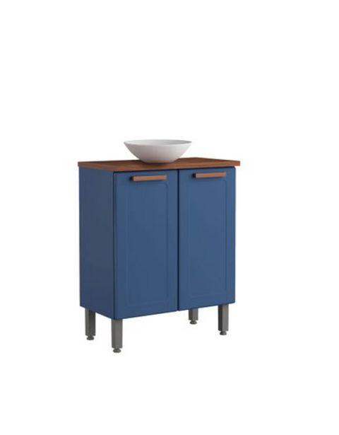 Oferta de Mueble De Baño Bertolini Con Lavamanos - Blue Navy por $684900