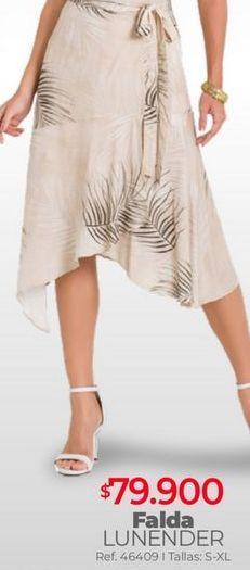 Oferta de Falda estampada por $79900