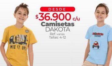 Oferta de Camiseta niño por $36900