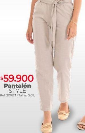 Oferta de Pantalones mujer por $59900