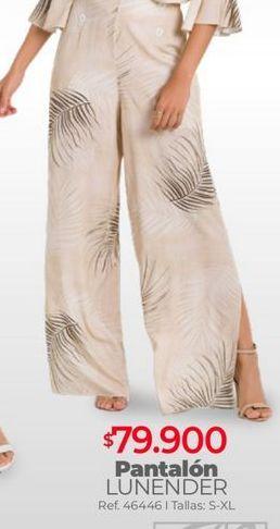 Oferta de Pantalones mujer por $79900