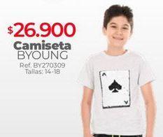 Oferta de Camiseta niño por $26900