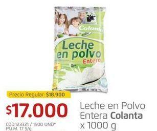 Oferta de Leche en polvo Colanta por $17000