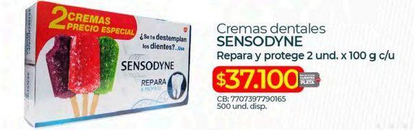 Oferta de Crema dental Sensodyne por $37100