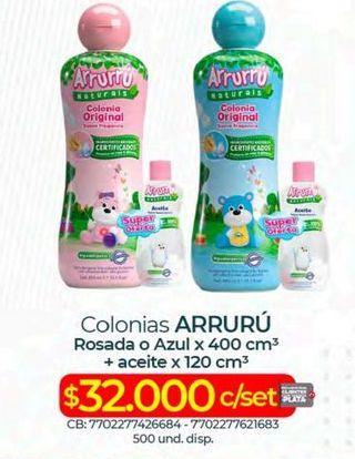 Oferta de Colonia infantil Arrurrú por $32000