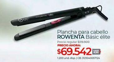 Oferta de Plancha de pelo Rowenta por $69542