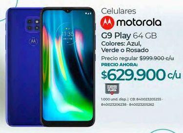 Oferta de Celulares Motorola por $629900