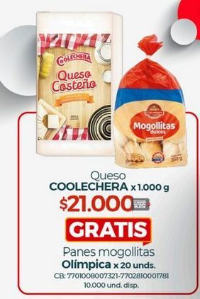 Oferta de Queso Coolechera por $21000