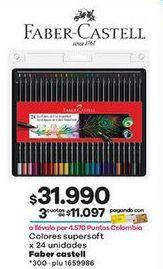 Oferta de Lápices de colores Faber Castell por $31990