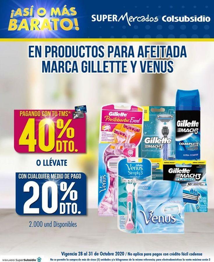 Oferta de Productos de belleza Gillette por