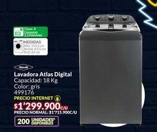 Oferta de Lavadora atlas digital por $1299900