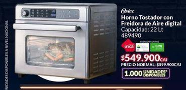 Oferta de Horno tostador con freidora de aire digital Oster por $549900