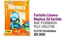 Oferta de Llavero Fortnite por $5900