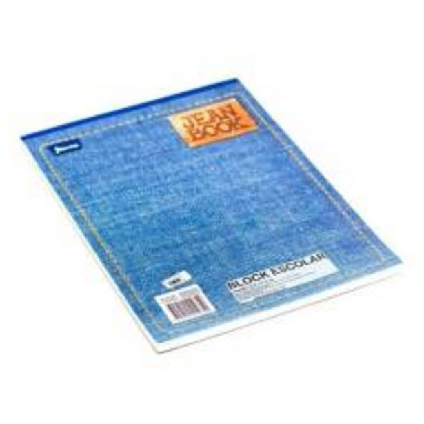 Oferta de Block jean book carta cuadriculado x 80 h por $3300