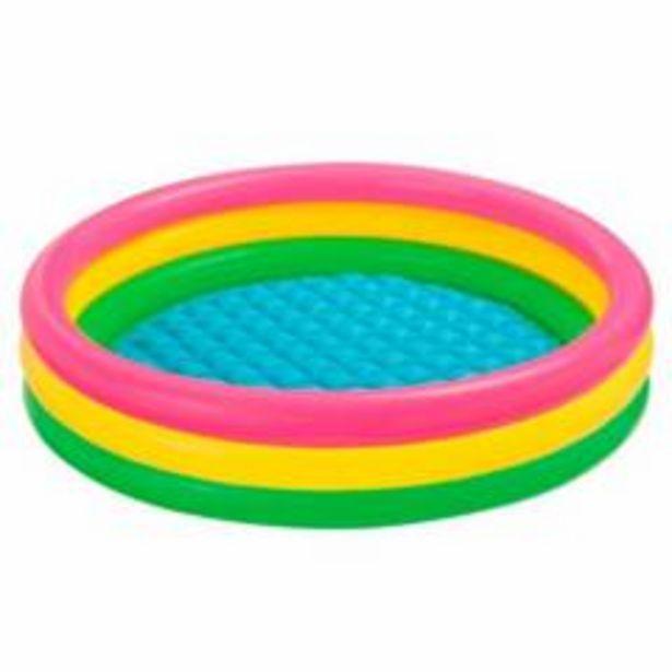 Oferta de Piscina Infable Color 147x33 cm 299 lt por $52900