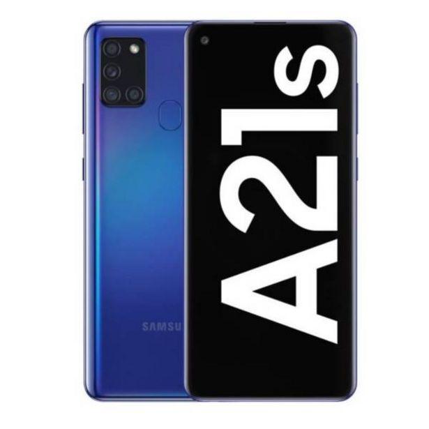 Oferta de Samsung a21 s 64 gb azul por $769900