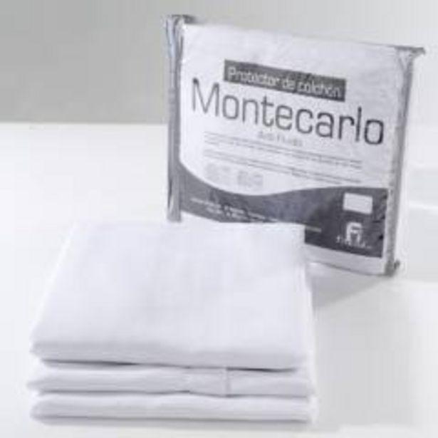 Oferta de Protector de Colchón Montecarlo Antifluido Doble por $109900