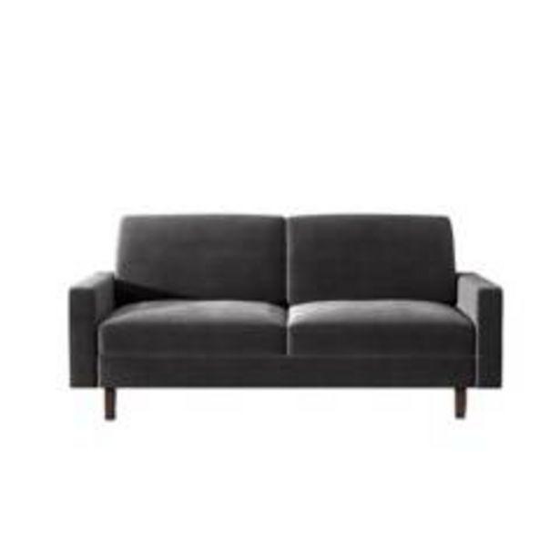 Oferta de Sofá melani gris oscuro por $899900