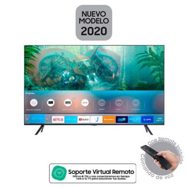 Oferta de Televisor Samsung 50 pulgadas LED 4K Ultra HD Smart TV por $1599900
