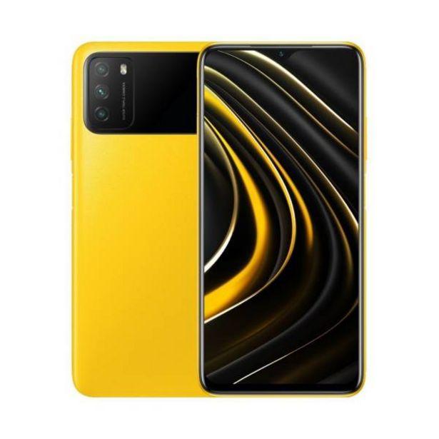 Oferta de Celular Xiaomi poco m3 64gb 4gb ram amarillo por $649900