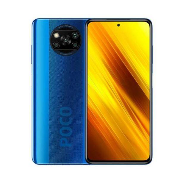 Oferta de Celular xiaomi poco x3 128gb 6gb ram azul por $1099900