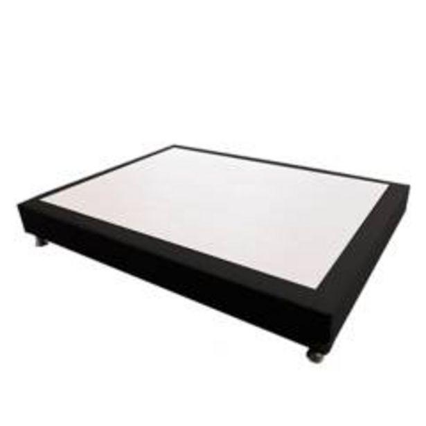 Oferta de Base Cama Microfibra Semidoble por $309900