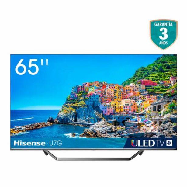 Oferta de Televisor Hisense 65 pulgadas ULED 4K Smart TV por $2599900