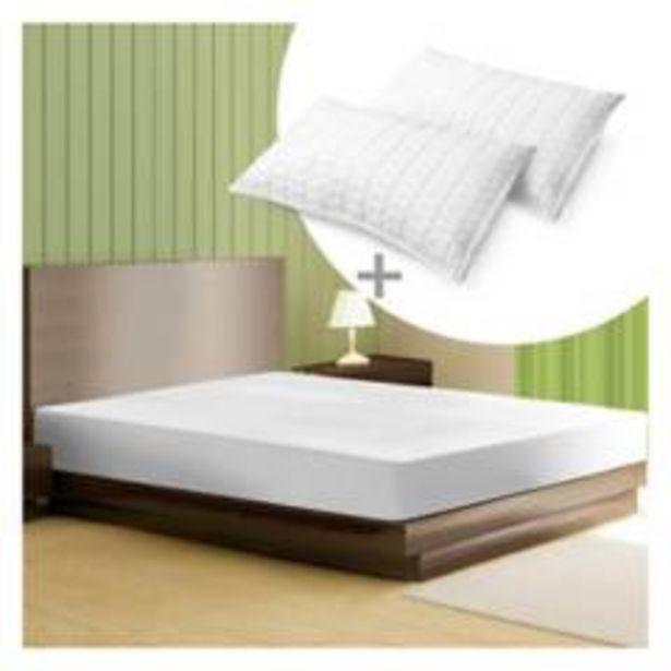 Oferta de Combo: Protector colchón Antifluido King + 2 Almoh por $189900