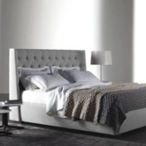 Oferta de Combo marfil espaldar+base cama 160 gr perla por $1899900