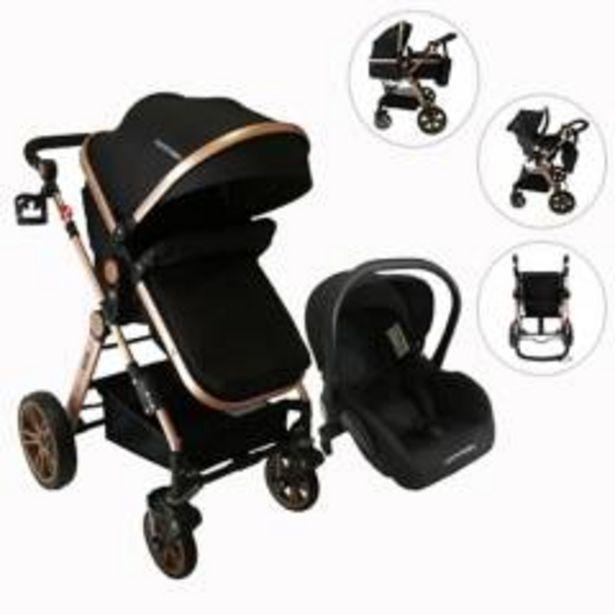 Oferta de Coches Travel System Alizze 3 en 1 Happy Baby por $747932