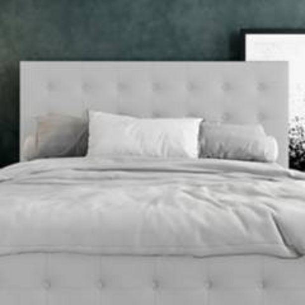 Oferta de Combo capital espaldar + base cama 140 gr perla por $1299900