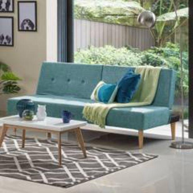 Oferta de Sofa cama hc trevor - turquesa por $629900