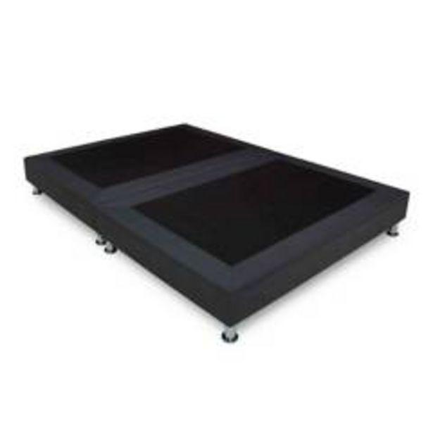 Oferta de Base cama REM Queen Negra por $369900