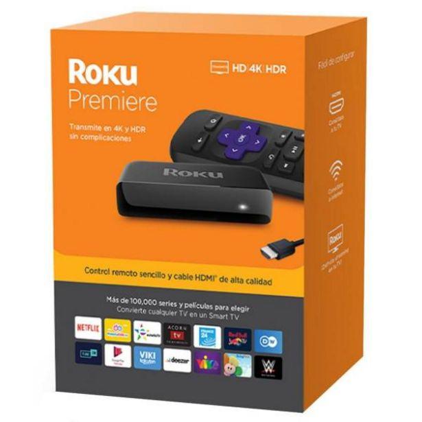 Oferta de Roku premier hd 4k  hdr convertidor smart tv por $216900