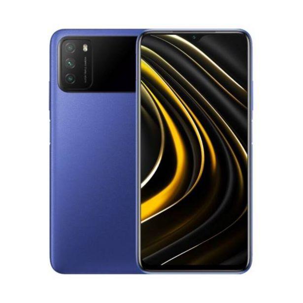 Oferta de Celular Xiaomi poco m3 128gb 4gb ram azul por $729900