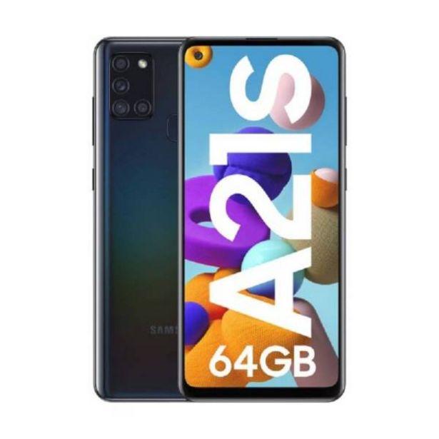 Oferta de Samsung a21 s  64 gb negro por $769900