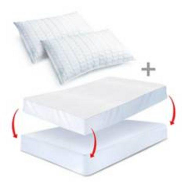 Oferta de Combo: Protector colchón Antifluido Doble +2 Almoh por $169900