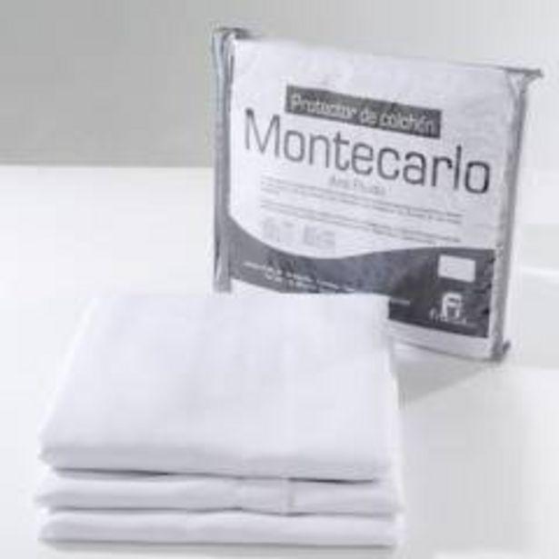 Oferta de Protector de Colchón Montecarlo Antifluido Queen por $119900