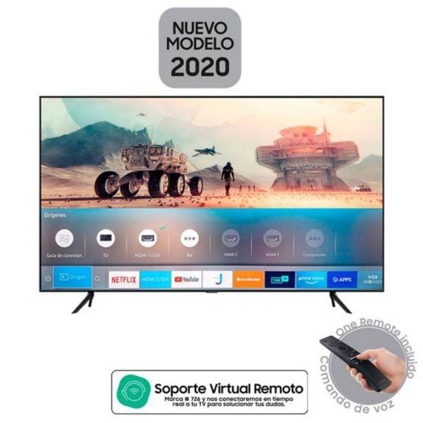 Oferta de Televisor Samsung 55 pulgadas QLED 4K Ultra HD Smart TV por $2199900