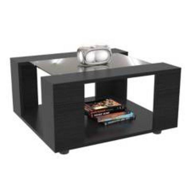 Oferta de Mesa de centro maderkit color negro 00061-prm por $129900