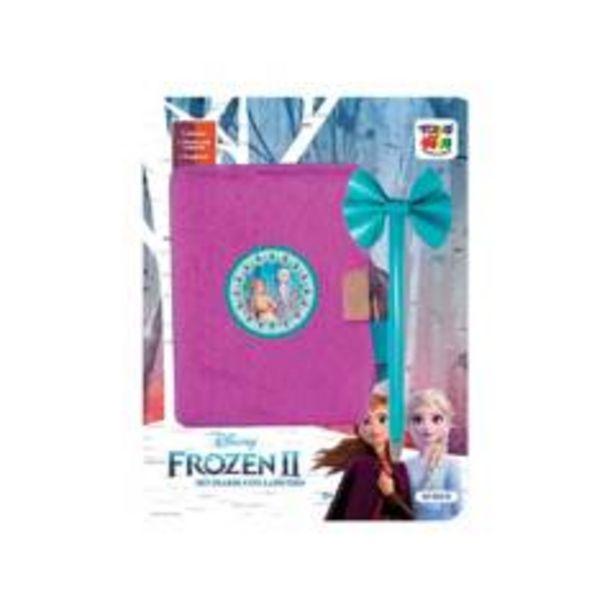 Oferta de Frozen 2 Set Diario Con Lapicero por $10430
