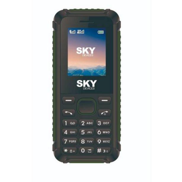 Oferta de Teléfono celular Sky rock 32 mb 2g verde por $54900
