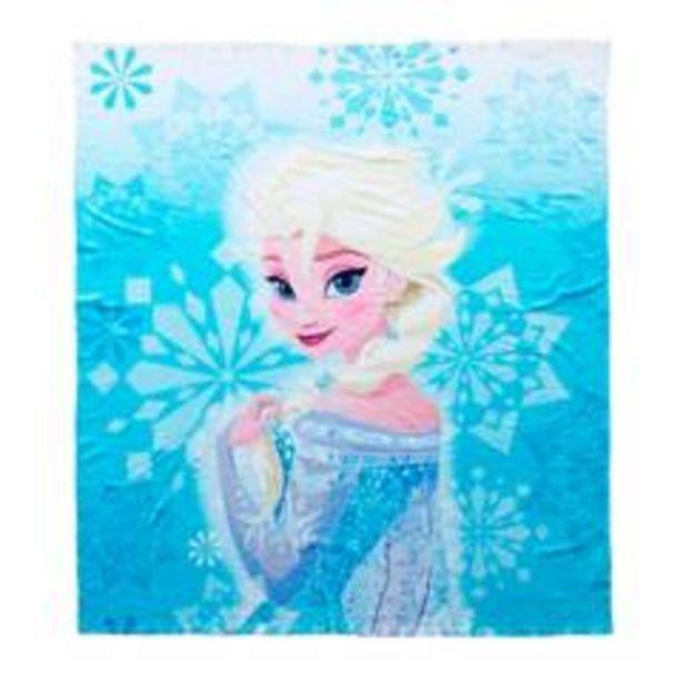 Oferta de Manta Poliéster 120 x 140 cm Elsa Frozen por $34900