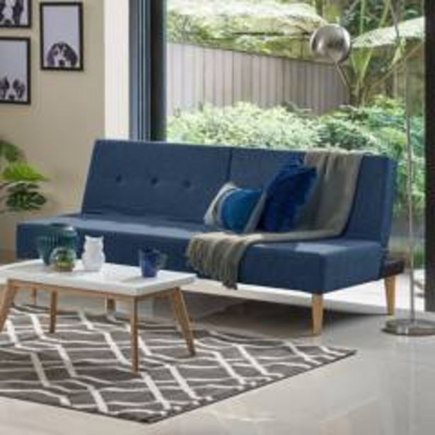 Oferta de Sofa cama hc trevor - azul indigo por $629900