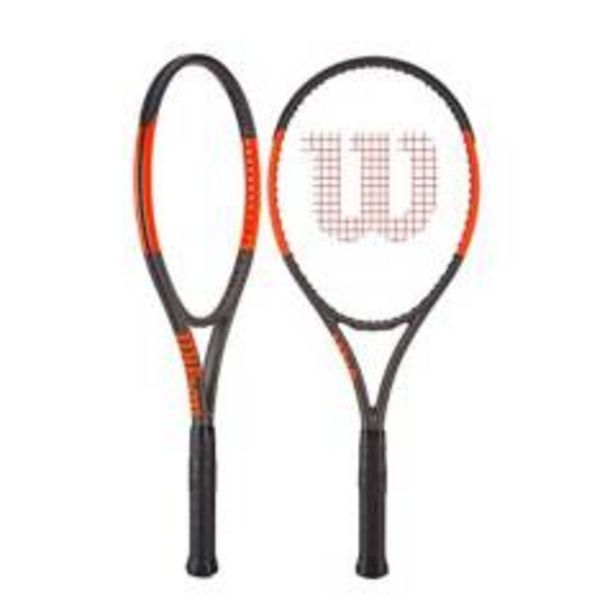 Oferta de Raqueta De Tenis Wilson Burn 100 S/Cover Grip 2 por $531800
