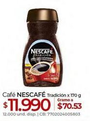Oferta de Café Nescafé por $11990